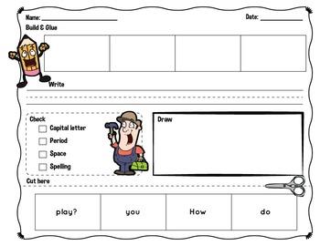 Sentence Building Green Series