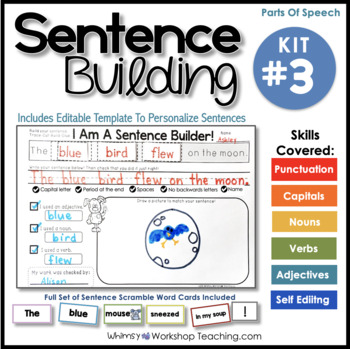 Sentence Building Kit 3 - Interactive Writing