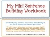 Sentence Building Mini Book