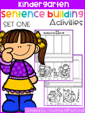 Kindergarten Sentence Building (SET 1)