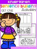 Kindergarten Sentence Building (SET 1)