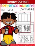 Kindergarten Sentence Building (Set 2)