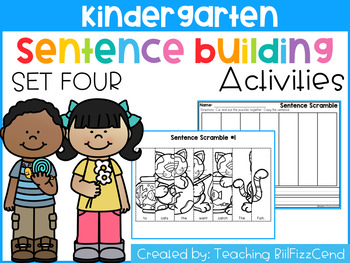 Sentence Building (Set 4)