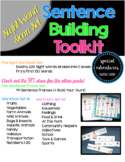 Sentence Building Toolkit- Sight Word Icon Set