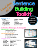Sentence Building Toolkit- Word Icon Set #1