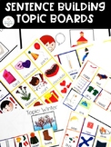Sentence Building Topic Boards for Special Education