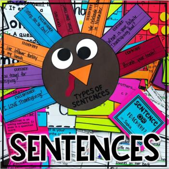 Sentence Building, Types of Sentences, Punctuation L.1.1.j, L.1.2.b
