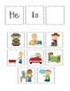 Sentence Building Velcro Activity