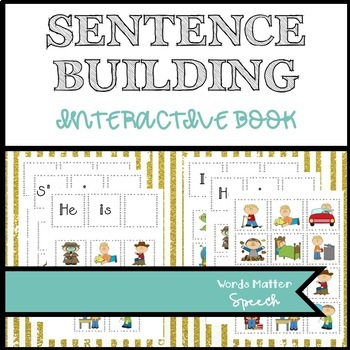 Sentence Building Velcro Activity