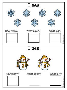 Sentence Building- Winter