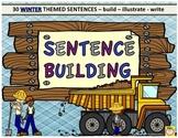 Sentence Building - Winter Theme
