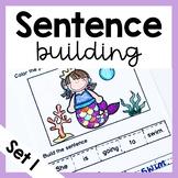 Sentence Building Worksheets Set 1