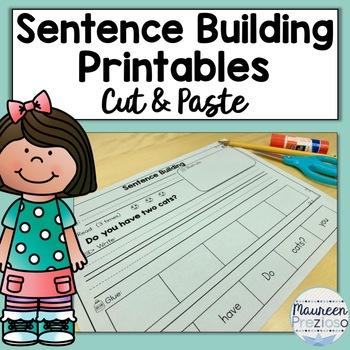 Sentence Building for Kindergarten