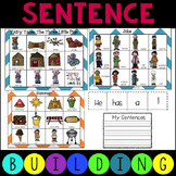 Sentence Building Writing Activity with Pictures
