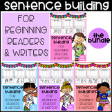 Sentence Building for Beginning Readers & Writers (The Bundle)