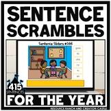 Scrambled Sentences for Google Slides™: Complete Bundle