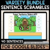 Sentence Building for Google Slides™: Super Set One
