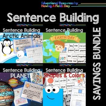 Sentence Building for Little Learners- Bundled Set