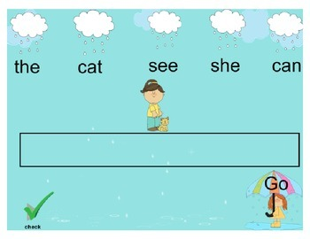 Sentence Building or Meaningful Word Group Mimio