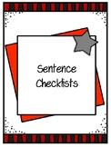 Sentence Checklists