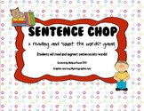 Sentence Chop- A sentence reading/segmenting/count the words Game