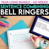 Bell Ringer Bundle for Secondary English: Sentence Combining