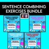 Sentence Combining Creative Writing Exercises Bundle   Dis