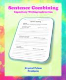 Sentence Combining (Hochman Method Aligned Resource for Elementary School)