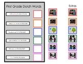 Sentence Comprehension Dolch 1st Grade Words