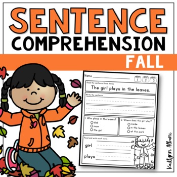 Sentence Comprehension - Read and Write [Fall]