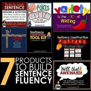 Sentence Fluency Bundle