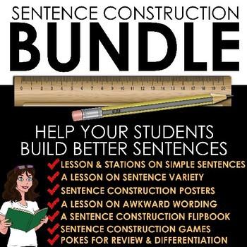 Sentence Construction Bundle