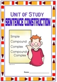 Compound and Complex Sentences and Many More: Entire Year of Grammar on Sentence