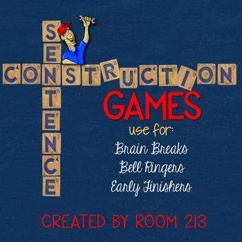 Sentence Construction Games
