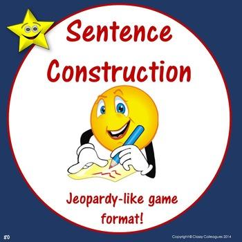 Sentence Construction Jeopardy Style