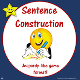 Sentence Construction Jeopardy Style