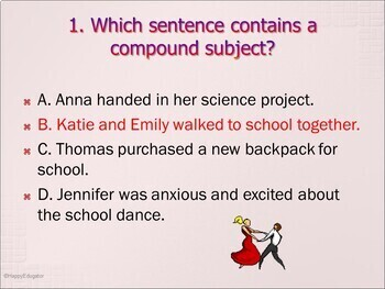TEST PREP Parts of Speech and Sentence Construction