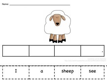 Sentence Construction on the Farm