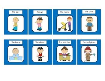 Sentence Construction with Present Progressive Verbs