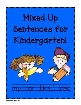 Sentence Conventions Practice For Kindergarteners