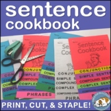 Sentence Structure & Variety Sentence Cookbook Foldable