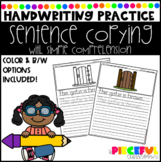 Sentence Copying (Handwriting Practice & Simple Comprehension)