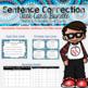 Sentence Correction Task Cards Bundle
