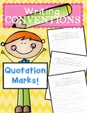 Sentence Corrections - Quotation Marks (Writing Convention