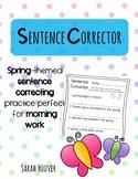 Sentence Corrector- Spring Edition