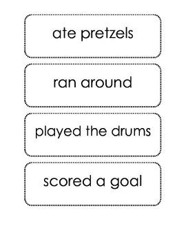 Sentence Creations (beginning blends)