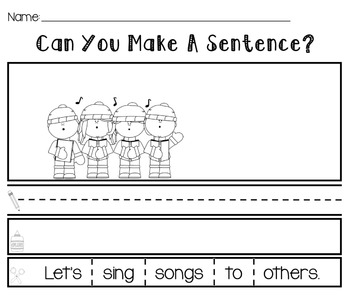 Making Sentences [Cut and Paste]