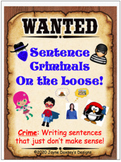 Revise and Edit: Sentence Criminals on the Loose!