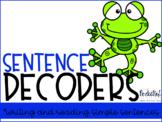 Sentence Decoders {Build a Sentence}