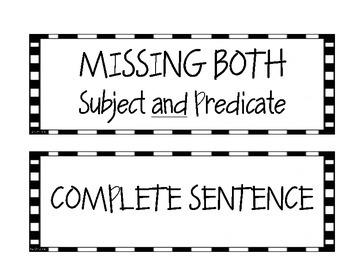 Sentence Detective Center Activity